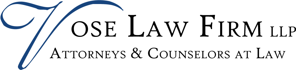 Vose Law Firm LLP - Attorneys & Counselors at Law